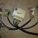 Kabelbaum EJ22-136 PS Detail ECU mit Spinne fertig